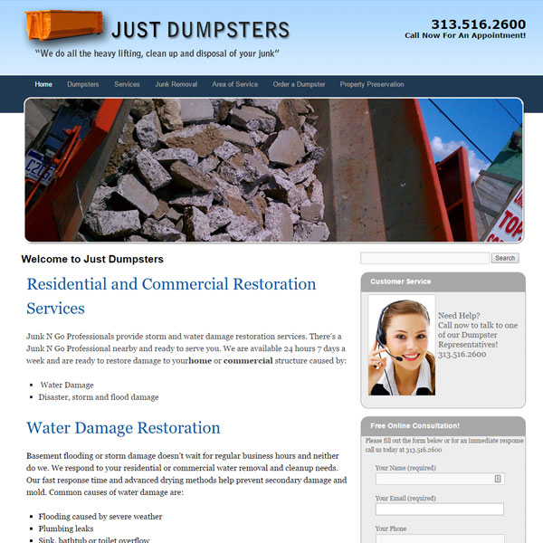 Just Dumpsters